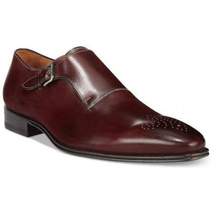 Handmade Men Formal Shoes, Men Maro..